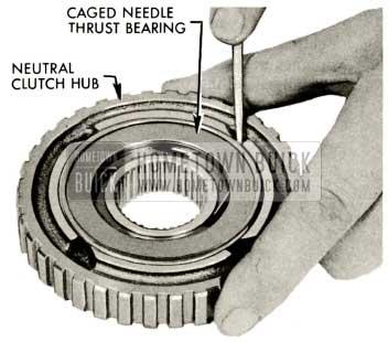 1959 Buick Triple Turbine Transmission - Caged Needle Thrust Bearing