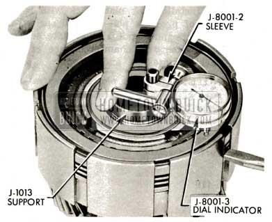 1959 Buick Triple Turbine Transmission - Check Clearance