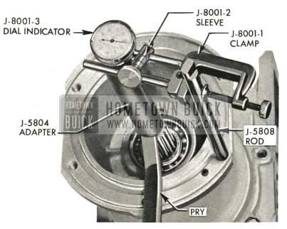 1959 Buick Triple Turbine Transmission - Check Output Shaft