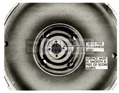 1959 Buick Triple Turbine Transmission - Check Turbine Disc and Hub