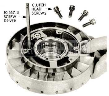 1959 Buick Triple Turbine Transmission - Clutch Head