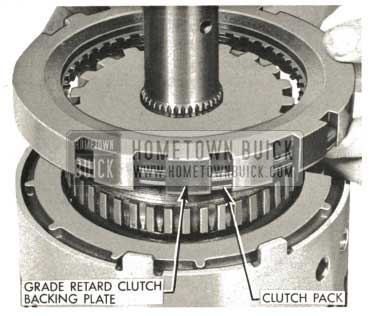 1959 Buick Triple Turbine Transmission - Clutch Pack