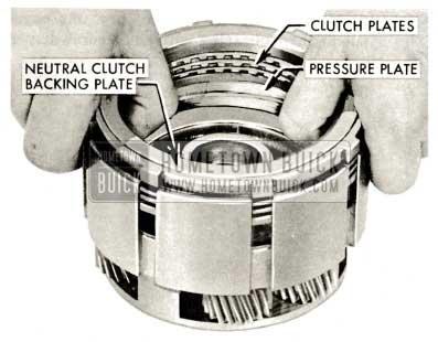 1959 Buick Triple Turbine Transmission - Clutch Plates