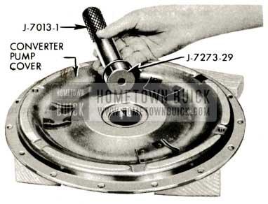 1959 Buick Triple Turbine Transmission - Converter Cover Bushing