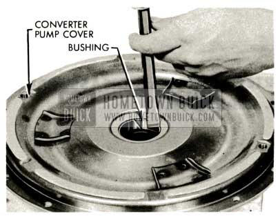 1959 Buick Triple Turbine Transmission - Converter Pump Bushing