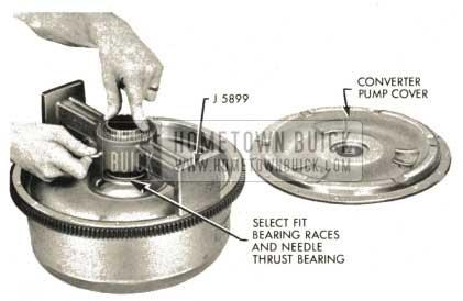 1959 Buick Triple Turbine Transmission - Converter Pump Cover