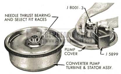 1959 Buick Triple Turbine Transmission - Converter Pump Turbine and Stator Assembly