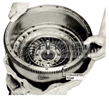 1959 Buick Triple Turbine Transmission - Converter Pump