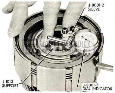 1959 Buick Triple Turbine Transmission - Dial Indicator