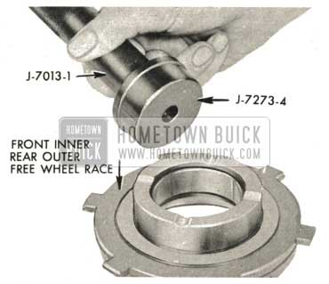 1959 Buick Triple Turbine Transmission - Examine Front Inner and Rear Outer Free Wheel Clutch Race Bushing