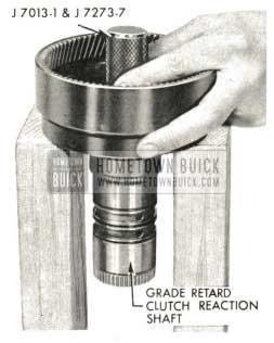 1959 Buick Triple Turbine Transmission - Examine Grade Retard Reaction Shaft