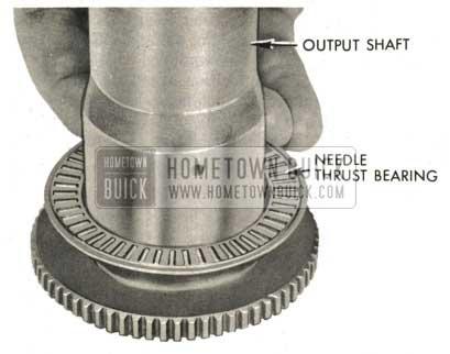 1959 Buick Triple Turbine Transmission - Examine Needle Thrust Bearing