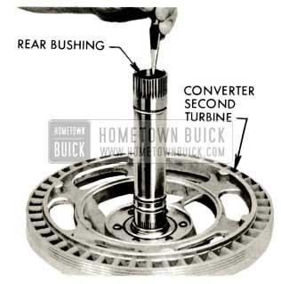 1959 Buick Triple Turbine Transmission - Examine Second Turbine Shaft Rear Bushing
