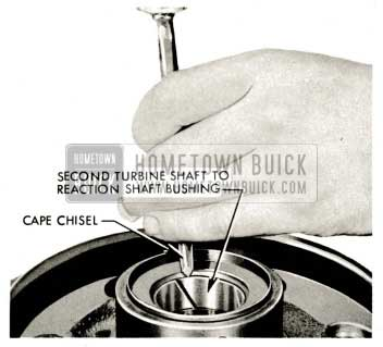 1959 Buick Triple Turbine Transmission - Examine Second Turbine Shaft