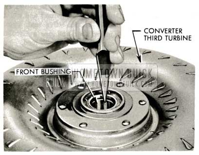 1959 Buick Triple Turbine Transmission - Examine Third Turbine Front Bushing