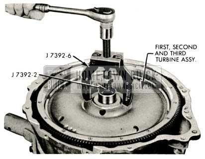 1959 Buick Triple Turbine Transmission - First Turbine Disc