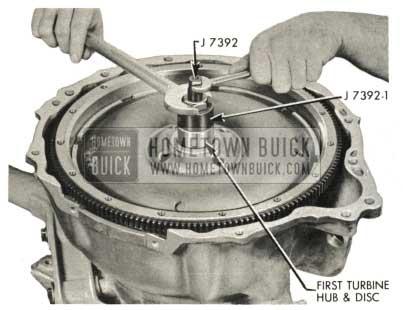 1959 Buick Triple Turbine Transmission - First Turbine Hub and Disc