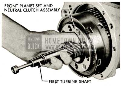 1959 Buick Triple Turbine Transmission - First Turbine Shaft