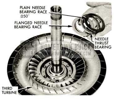1959 Buick Triple Turbine Transmission - Flanged Needle Bearing Race