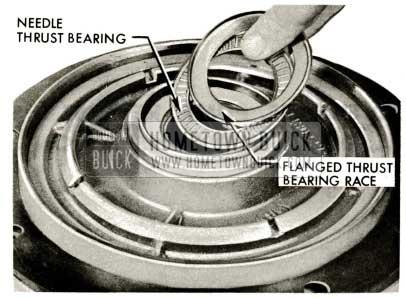 1959 Buick Triple Turbine Transmission - Flanged Thrust Bearing Race