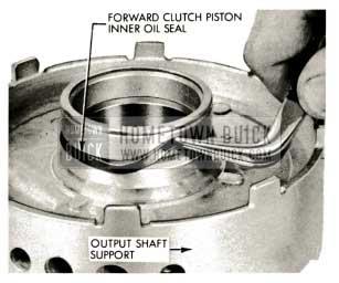1959 Buick Triple Turbine Transmission - Forward Clutch Piston Inner Oil Seal