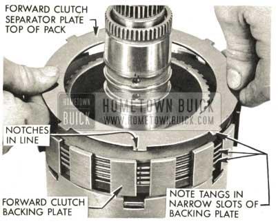 1959 Buick Triple Turbine Transmission - Forward Clutch Separator Plate