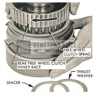1959 Buick Triple Turbine Transmission - Free Wheel Clutch Sprag