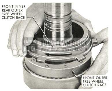 1959 Buick Triple Turbine Transmission - Front Inner Rear Outer Free Wheel Clutch Race