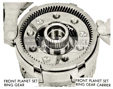 1959 Buick Triple Turbine Transmission - Front Planet Set Ring Gear Carrier