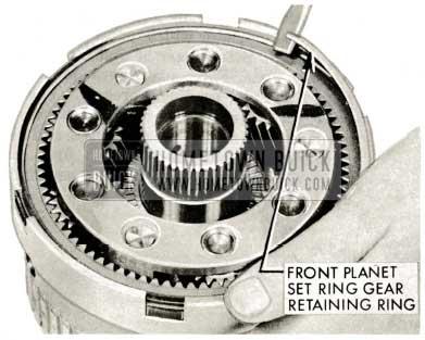 1959 Buick Triple Turbine Transmission - Front Planet Set Ring Gear