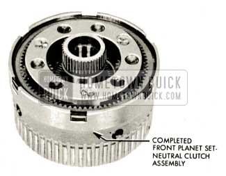 1959 Buick Triple Turbine Transmission - Front Planet Set