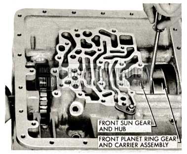 1959 Buick Triple Turbine Transmission - Front Sun Gear and Hub