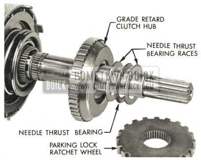 1959 Buick Triple Turbine Transmission - Grade Retard Clutch Hub