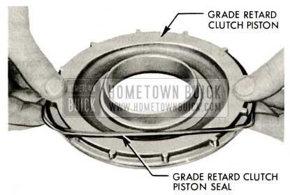 1959 Buick Triple Turbine Transmission - Grade Retard Clutch Piston Seal