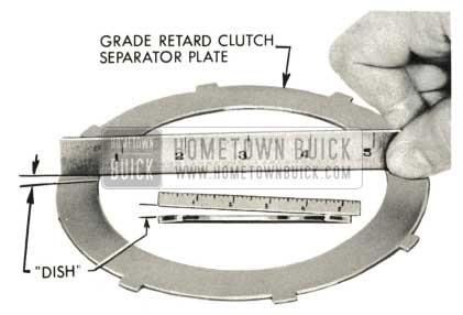 1959 Buick Triple Turbine Transmission - Grade Retard Clutch Separator Plate