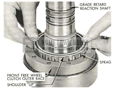 1959 Buick Triple Turbine Transmission - Grade Retard Reaction Shaft
