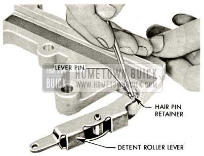 1959 Buick Triple Turbine Transmission - Hair Pin Retainer