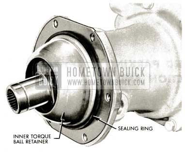 1959 Buick Triple Turbine Transmission - Inner Torque Ball Retainer