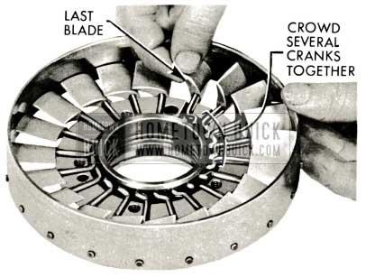 1959 Buick Triple Turbine Transmission - Install Blades