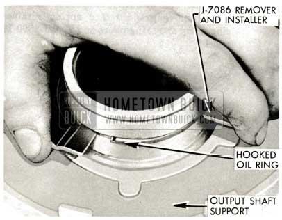1959 Buick Triple Turbine Transmission - Install Clutch Piston Inner Oil Ring
