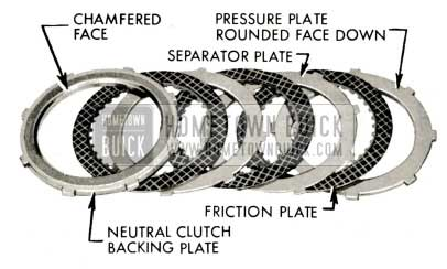 1959 Buick Triple Turbine Transmission - Install Clutch Plate