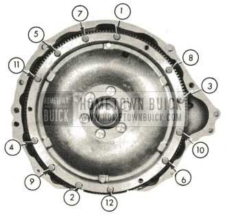 1959 Buick Triple Turbine Transmission - Install Converter Pump