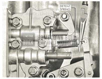 1959 Buick Triple Turbine Transmission - Install Detent Spring