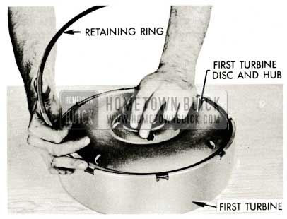 1959 Buick Triple Turbine Transmission - Install First Turbine Disc