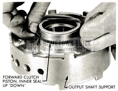 1959 Buick Triple Turbine Transmission - Install Forward Clutch Rubber Inner Oil Seal