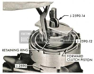 1959 Buick Triple Turbine Transmission - Install Forward Clutch Spring