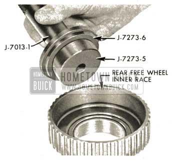 1959 Buick Triple Turbine Transmission - Install Free Wheel Clutch Inner Race Bushing