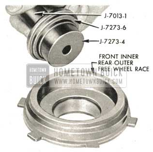 1959 Buick Triple Turbine Transmission - Install Front Inner and Rear Outer Free Wheel Clutch Race Bushing