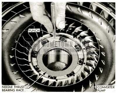 1959 Buick Triple Turbine Transmission - Install Needle Thrust Bearing Race
