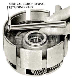 1959 Buick Triple Turbine Transmission - Install Neutral Clutch Spring Retaining Ring
